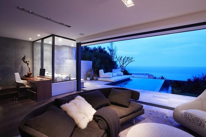 современный дом на берегу океана 6 (700x466, 210Kb)