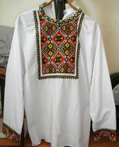1.Мужская рубаха вышитая крестом2.3.4.Источник материала: Klubokdel.ru.