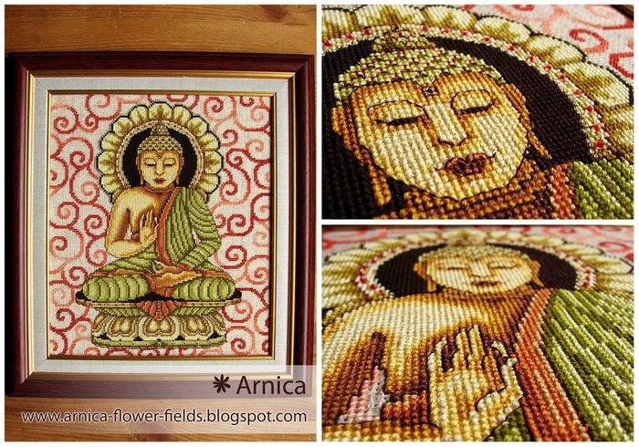 Схемы для вышивки будда