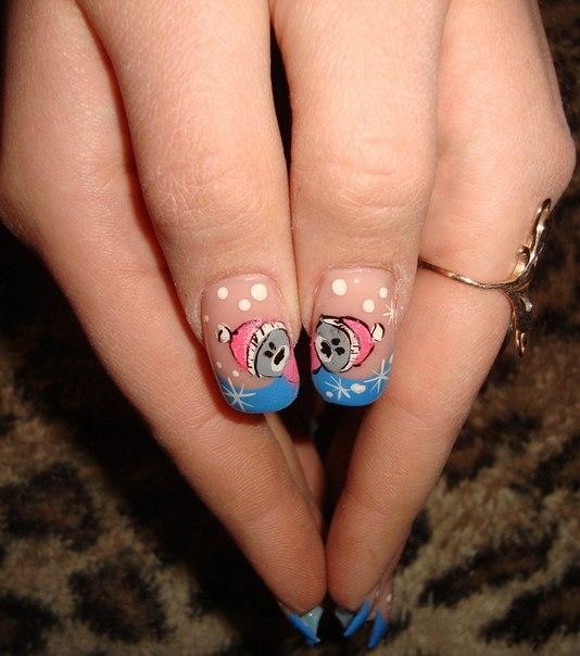 Ногти зима 2014 фото френч