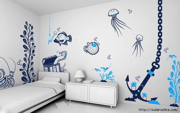Wall decals above bed hd pics