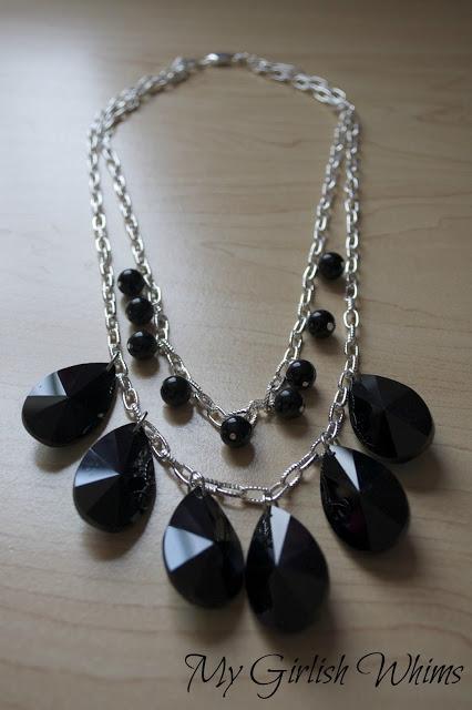Красивое ожерелье и урок