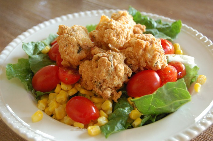 салат с треской (700x464, 92Kb)