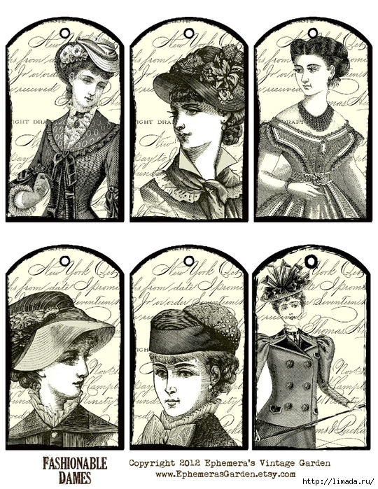 fashionableDames (540x700, 388Kb)