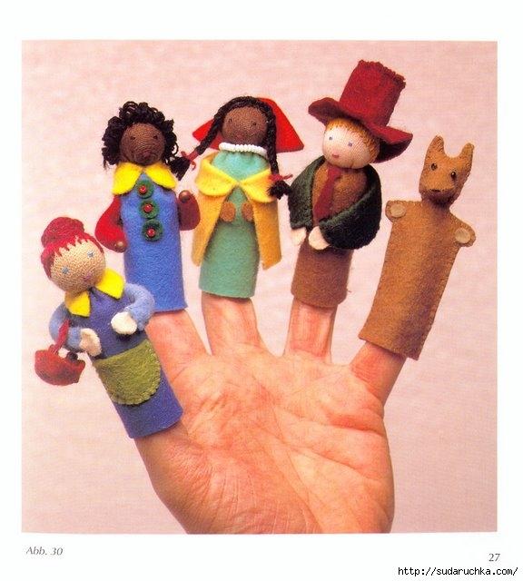 Как своими руками сделать куклу перчатку