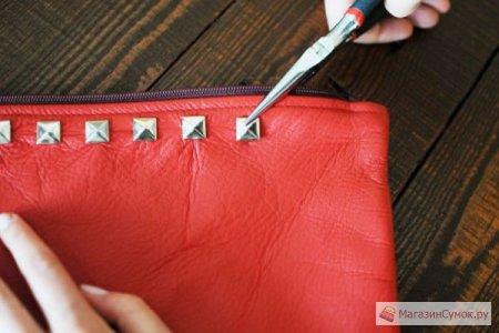 """Рокерский клатч-конверт своими руками """" Магазин сумок .ру - Блог, посвященный сумкам."""