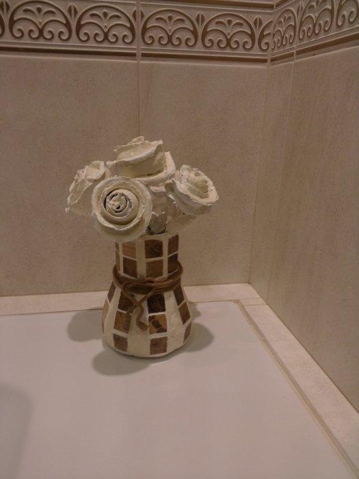 Розочки из апельсиновых корочек. Букет апельсиновых роз для украшения интерьера (11) (525x700, 112Kb)