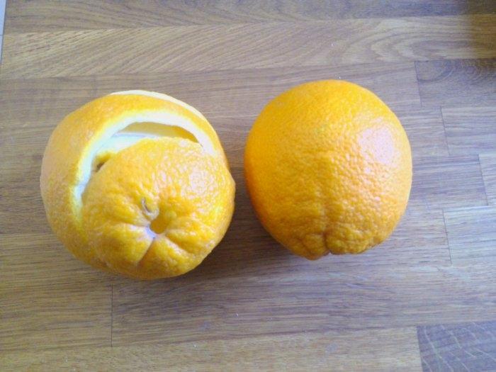 Розочки из апельсиновых корочек. Букет апельсиновых роз для украшения интерьера (14) (700x525, 170Kb)