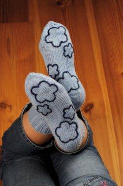 Как сделать носки нескользящими 282