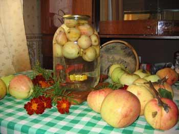 Популярные рецепты яблочных заготовок