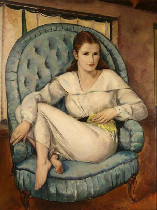Leon Kroll (1884 – 1974)barbara  kroll (524x700, 52Kb)
