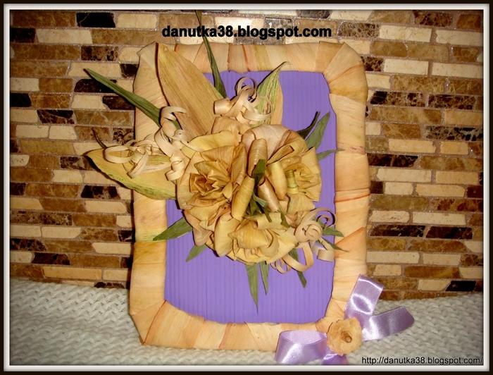 букет цветов из листьев кукурузы - талаша, мастер-класс (36) (700x532, 313Kb)