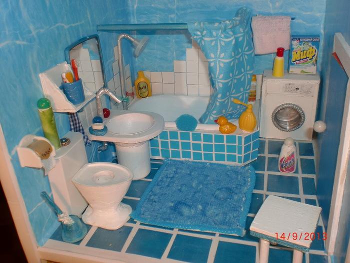 Туалет для кукол своими руками