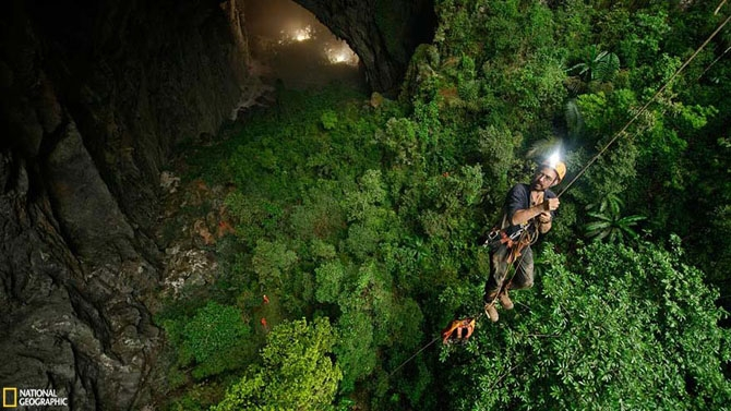 пещера Son Doong вьетнам фото 7 (670x377, 243Kb)