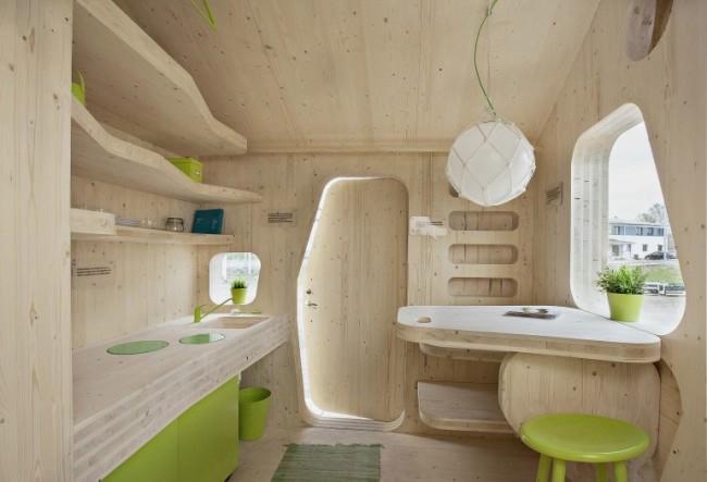 креативный дизайн деревянного дома (650x443, 97Kb)