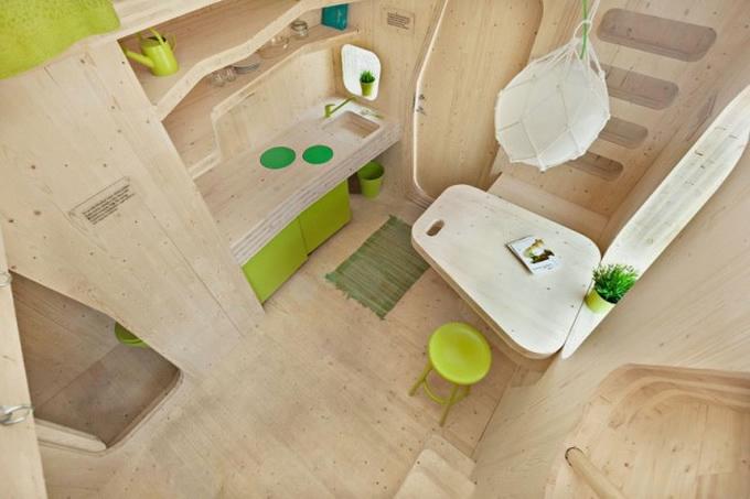 креативный дизайн деревянного дома 3 (680x453, 132Kb)
