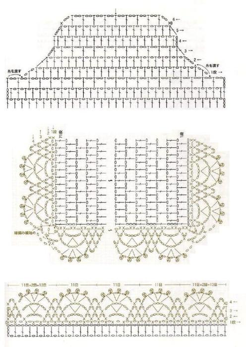 Стильные модели крючком (12) (496x700, 221Kb)