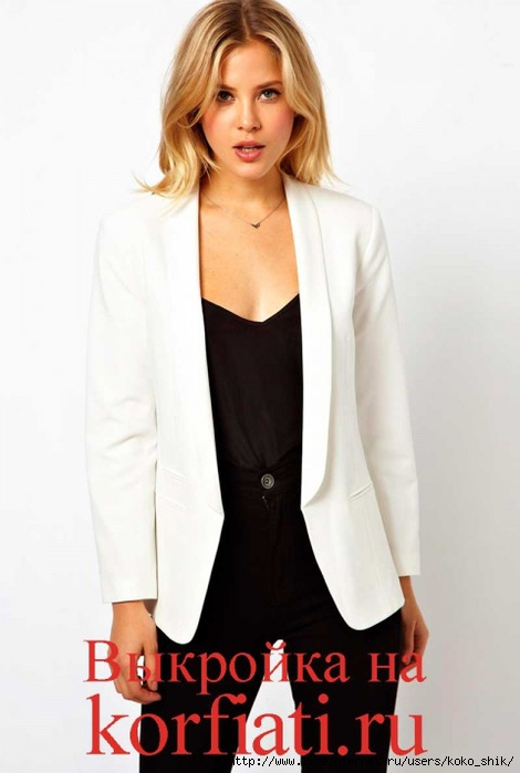 Белый пиджак (470x700, 143Kb)