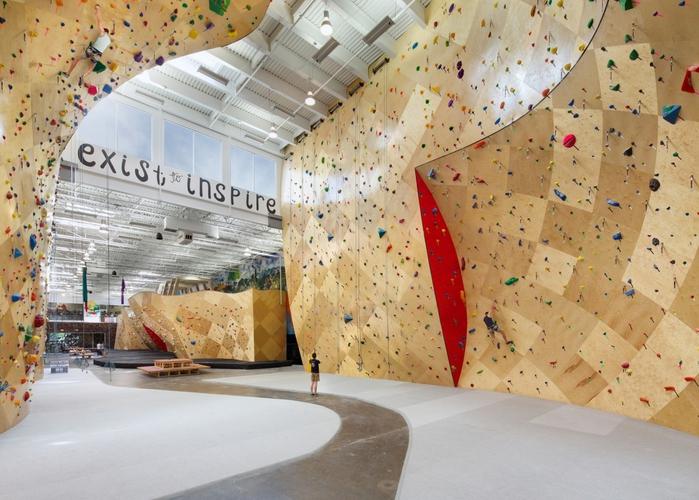 Climbing wall designs