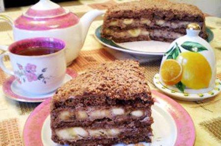 шоколадно-банановый торт 1 (450x298, 136Kb)