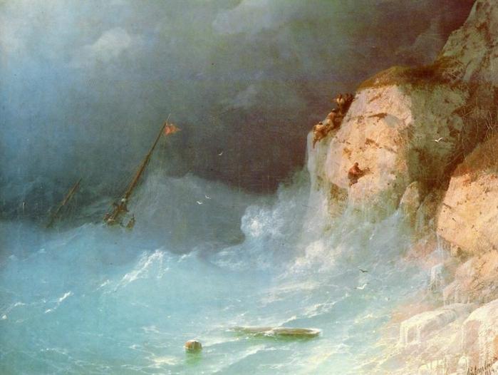 Кораблекрушение. 1876 год (700x526, 247Kb)