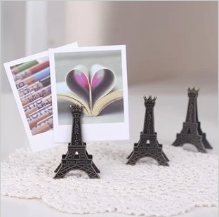 1 PCS Korea Stationery Vintage Paris Eiffel Tower Metal Gift Clip Business Card Stand Photo Card Holder Memo Paper Message Clip/5863438_1PCSKoreaStationeryVintageParisEiffelTowerMetalGiftClipBusinessCardStandPhotoCard (312x309, 104Kb)