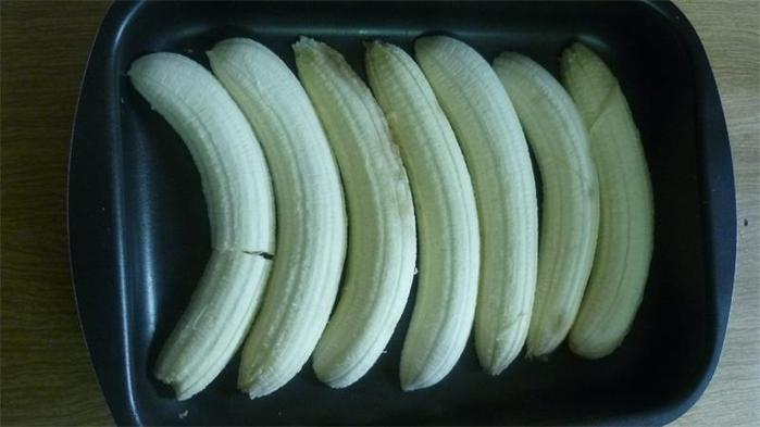 запеканка из творога и бананов