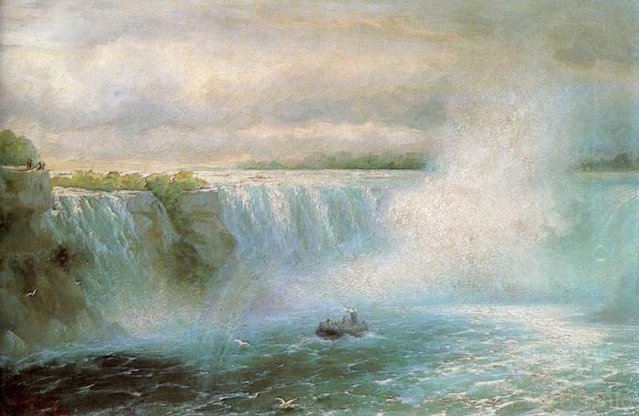 Ниагарский водопад. 1894 год (700x455, 250Kb)
