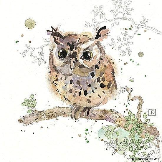 Милые рисунки  Jane Crowther2 (550x550, 183Kb)
