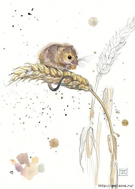 Милые рисунки  Jane Crowther6 (442x620, 115Kb)