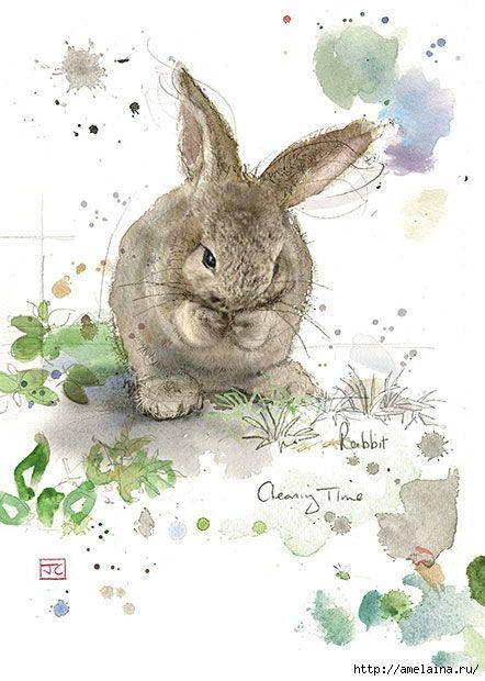Милые рисунки  Jane Crowther8 (442x620, 147Kb)