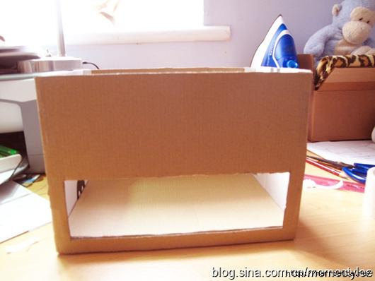 Шкатулка для бижутерии своими руками из картона (25) (530x398, 120Kb)
