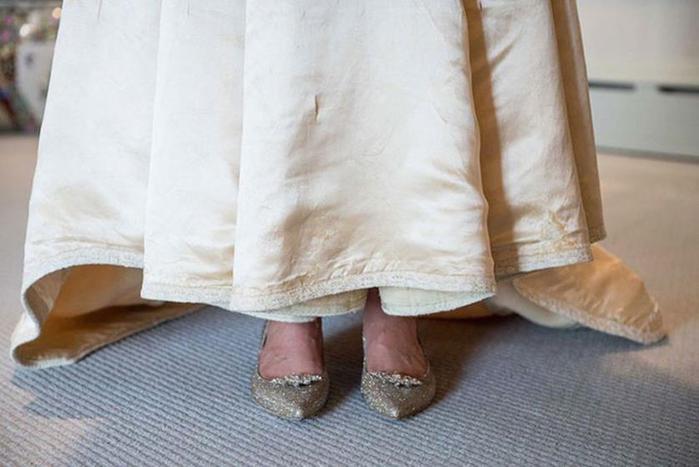 Одиннадцатая невеста в семье надела это 120-летнее свадебное платье
