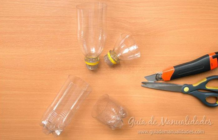 Как сделать органайзер или пенал из обычной пластиковой бутылки!