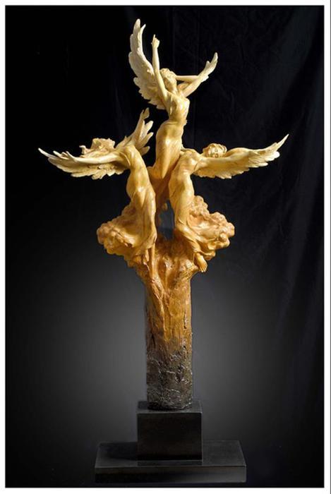 Тайванский скульптор Гейлорд Хо