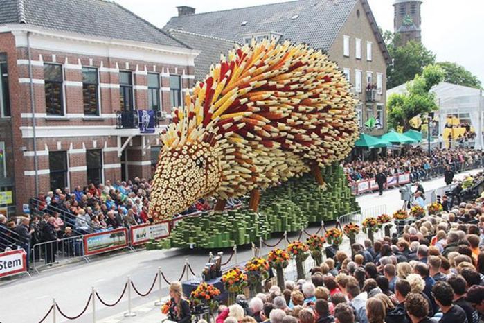Ван Гог вдохновил создателей фестиваля цветов