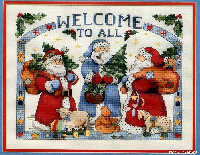 Christmas welcome 0 (700x543, 430Kb)