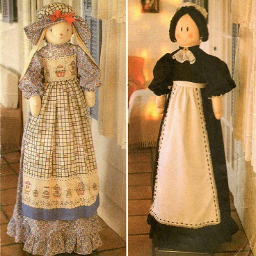 Куклы чехлы на пылесос