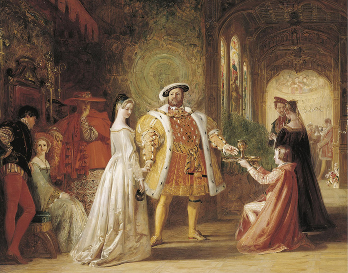 Daniel_Maclise_Henry_VIIIs_first_interview_with_Anne_Boleyn (700x549, 313Kb)
