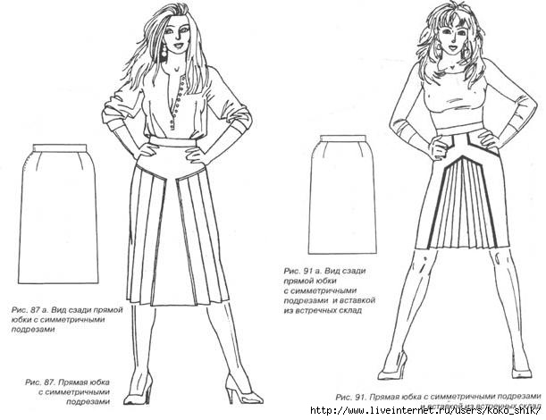 Прямая юбка онлайн