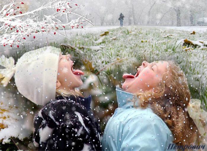 Первый снег (640x480, 140Kb)