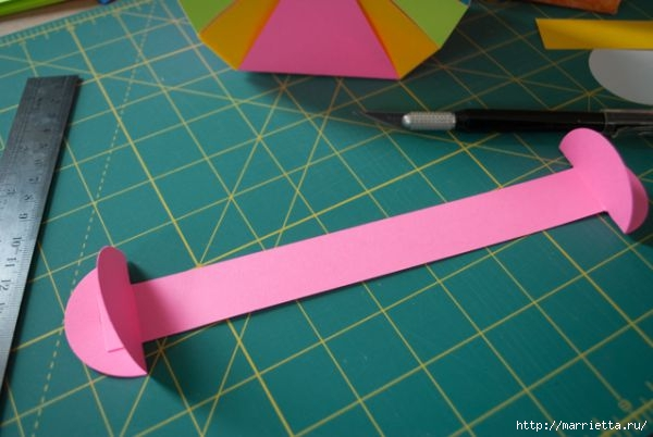 Корзинка из цветной бумаги своими руками (12) (600x402, 118Kb)
