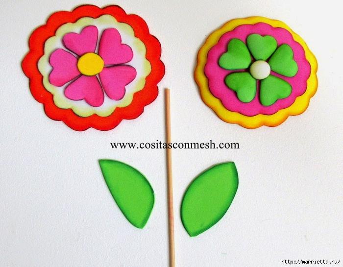 Бумажные цветы для детского подарка к 8 марта (1) (700x545, 277Kb)