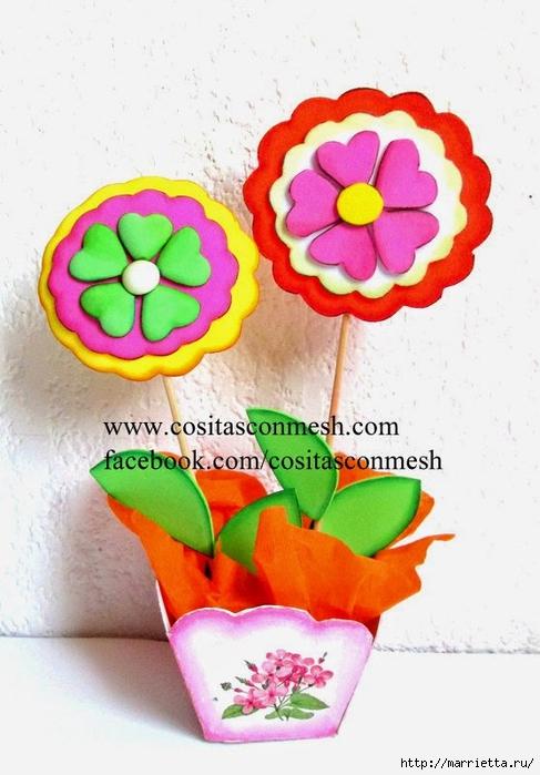 Бумажные цветы для детского подарка к 8 марта (14) (487x700, 221Kb)