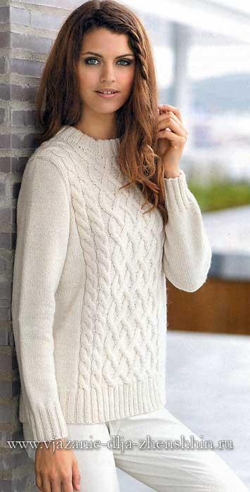 Размеры женского свитера: