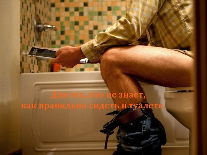 alt=Для тех, кто не знает, как правильно сидеть в туалете./2835299_ (700x525, 218Kb)