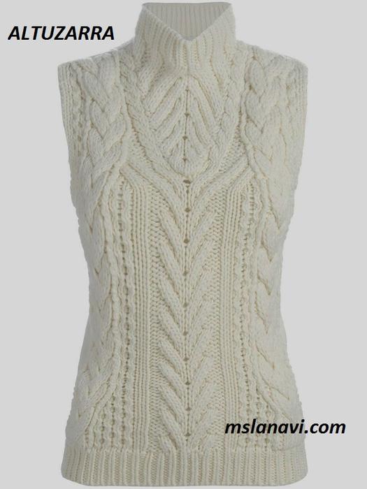 вязаный-свитер-спицами-схема-3 (525x700, 244Kb)