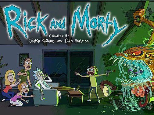 Рик и Морти – еще один безбашенный мультсериал.