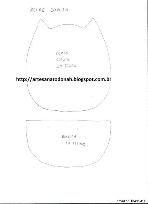 MOLDE MГѓE CORUJA 001 (1) (508x700, 52Kb)