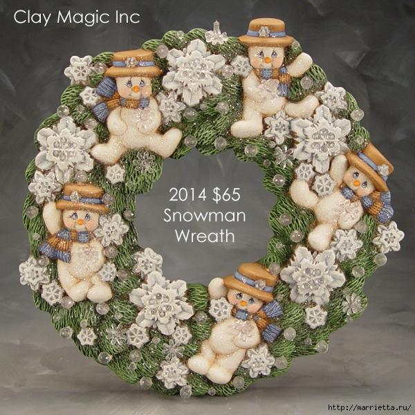 Из полимерной глины. Идеи новогодних подарков (5) (600x600, 356Kb)